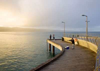 Fishing at Lorne Pier